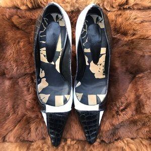 Black & White Heels